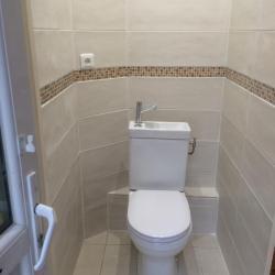 Création d'un  sanitaire aprés Oise