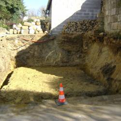 Construction garage (fondations) Compiègne