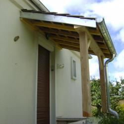 Création d'auvent bois Compiègne Oise (60)