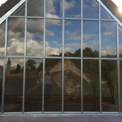 Création d'un pignon en verre Venette Oise (aprés)