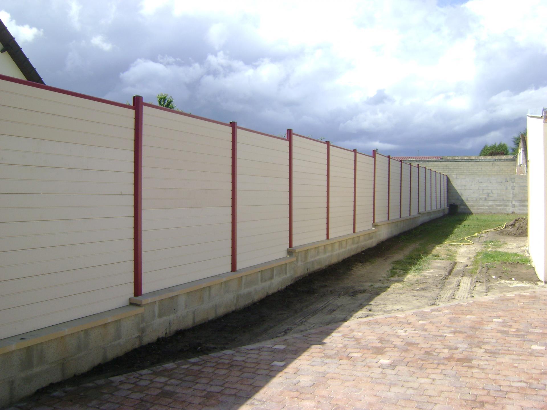 Pose de clôture Compiègne Oise (60)
