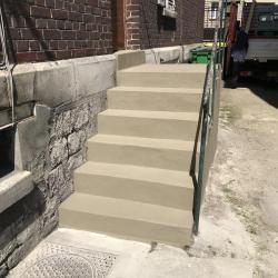 Réfection d'un escalier extérieur Compiègne (60)