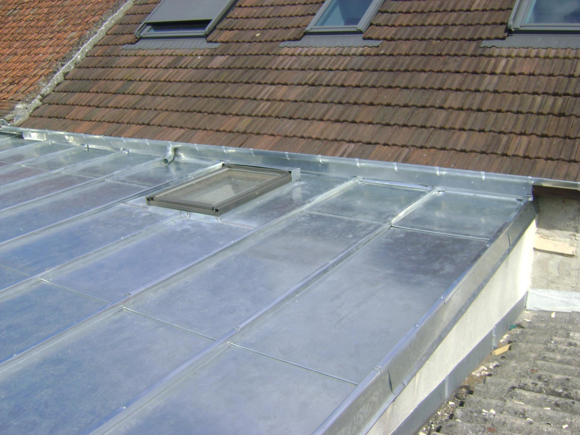 Terrasse zinc sarl goubet oise
